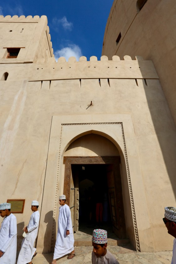 Nizwa fort entrance