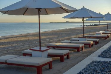 Chedi_Muscat beach at sunrise
