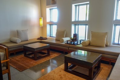 My suite had a huge sitting room.