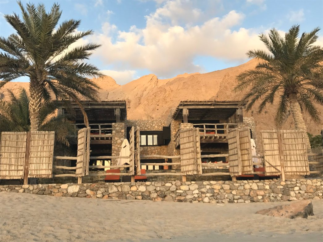 There are a couple of huge villas with multiple rooms to house all your friends or family.