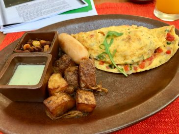 Omelettes with Arabian spices..