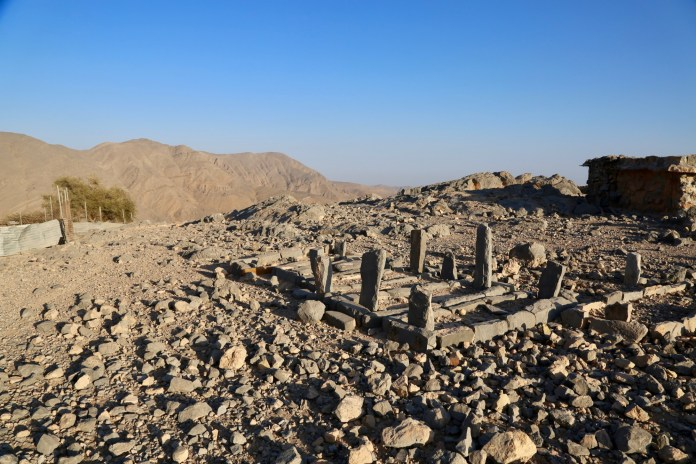 Even past mountain topped villages -- once isolated from the rest of the world. This was an ancient Muslim graveyard.
