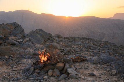Zighy Bay Sabatyn sunset fire