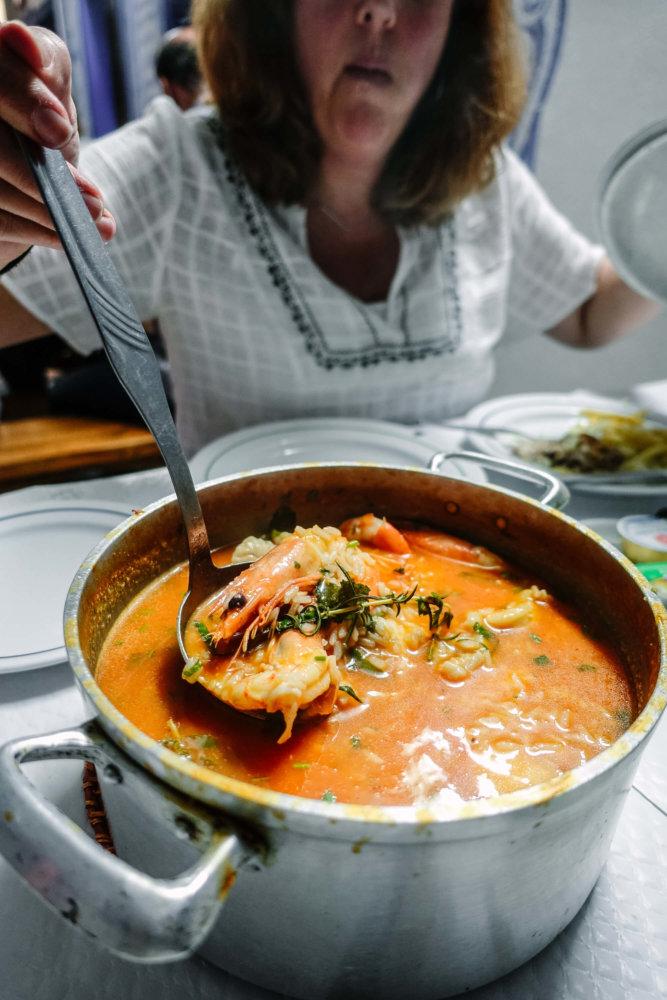 O Gervasio fish stew