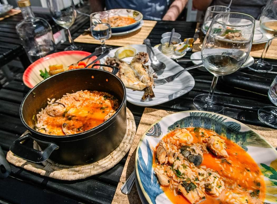 Restaurant Sal Comporta food