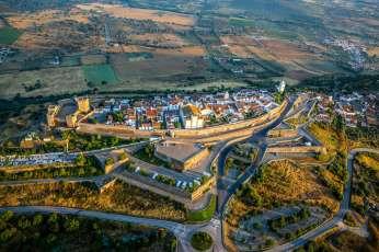 Monsaraz aerial view