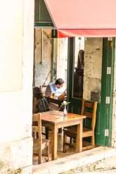 Lisbon cafe scene