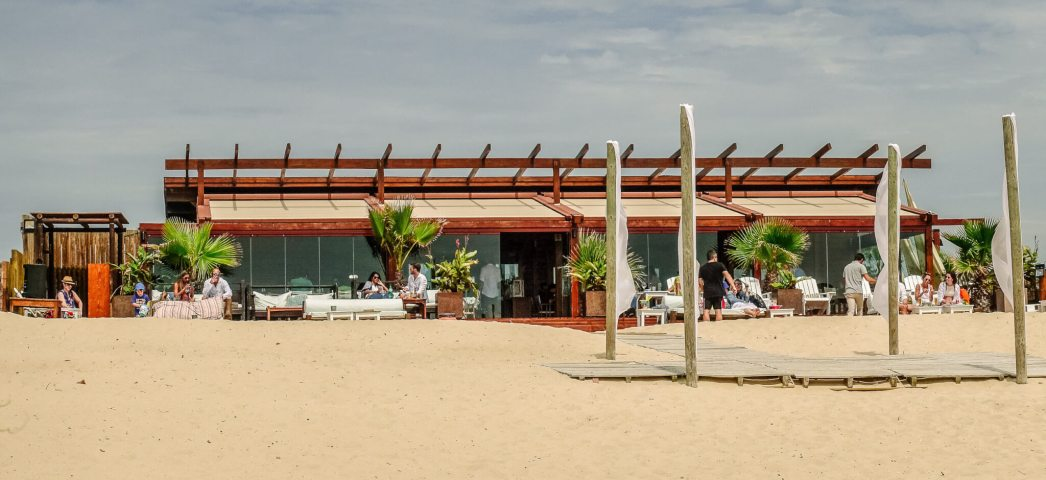 Cafe Comporta sits just above the beach, perfect for taking a break from the sun to grab a spritz and a bite.