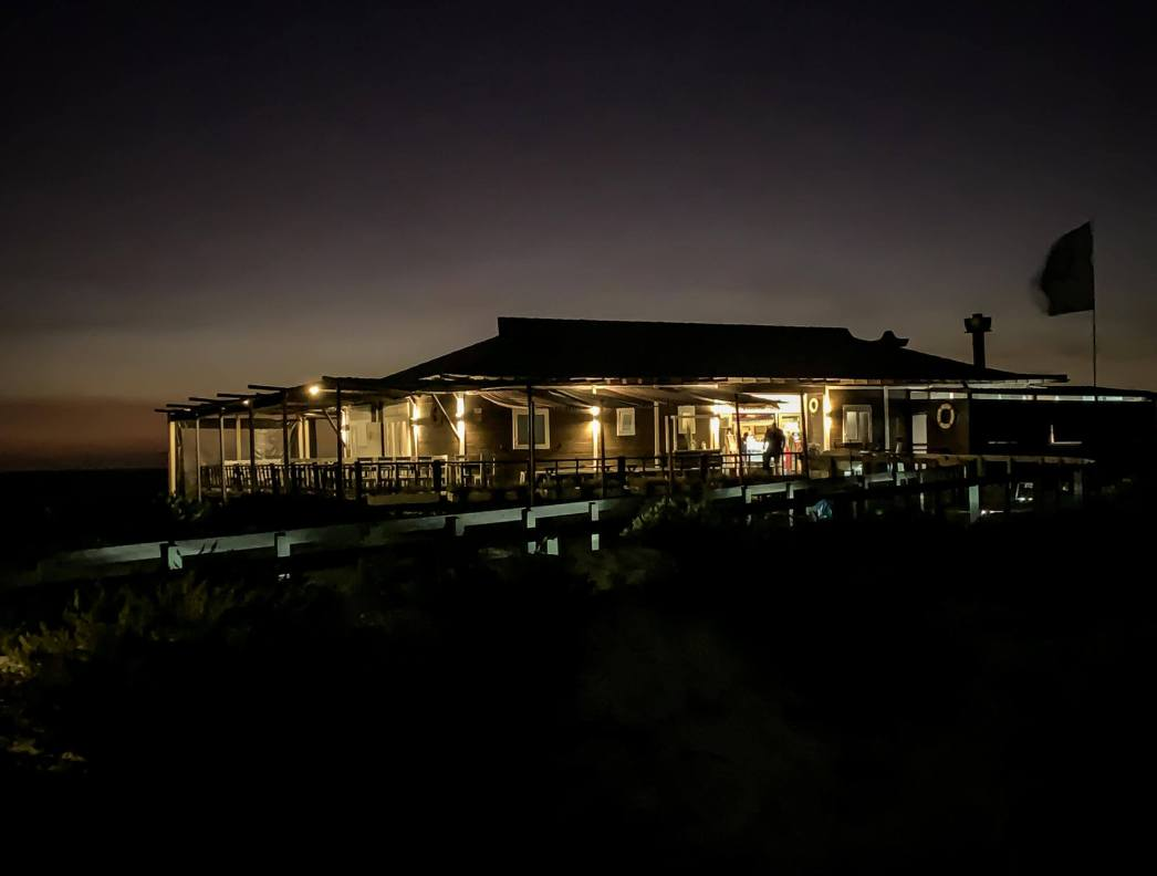 Restaurante Sal Comporta at night