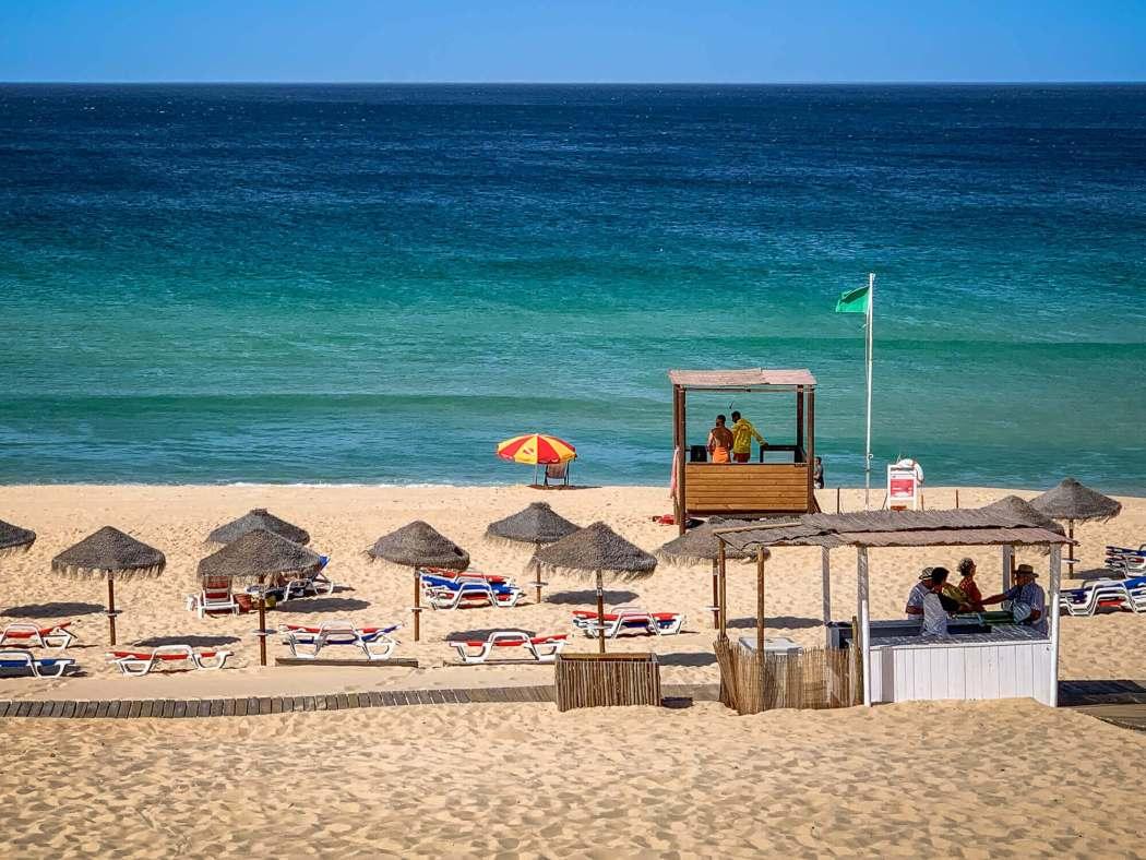 Pego Beach in September
