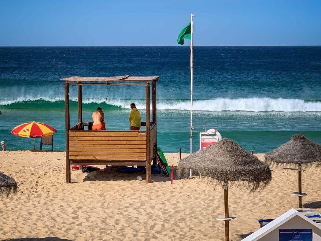 Pego Beach lifeguards