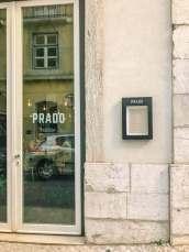 Restaurante Prado Lisbon entrance