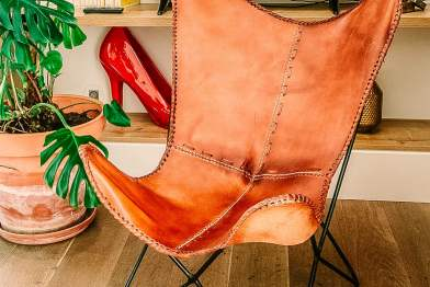 The Lisboans Apartments leather chair