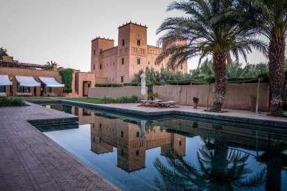 Dar Ahlam pool reflection
