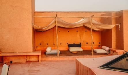 Dar Ahlam rooftop lounge