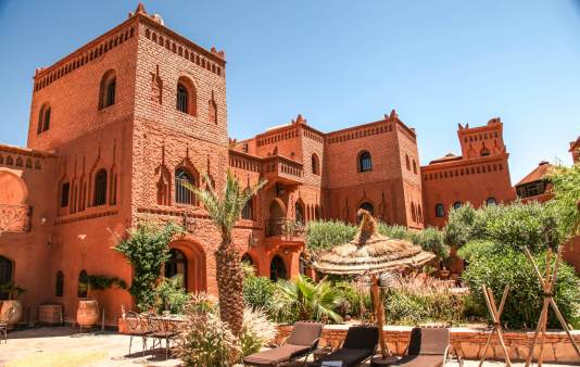 We stopped at this hidden little gem of a kasbah for lunch. Kasbah Ighnda. Had a remarkable tagine.