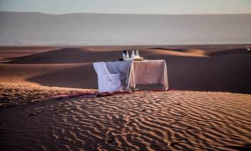 Dar Ahlam breakfast view