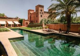 Dar Ahlam pool midday