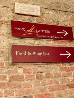 Marc Lanteri Al Castello entrance