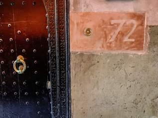 Riad 72 front door