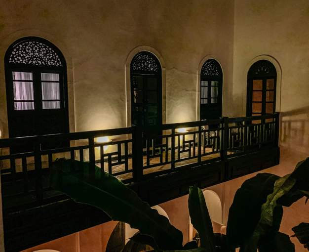 In Morocco, everything looks different at night.