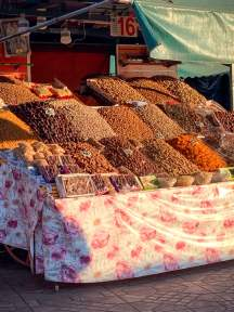 Spices in the souk Marrakesh