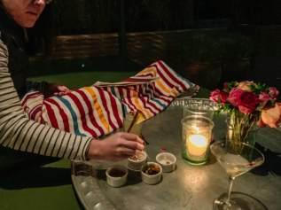 El Fenn cocktail tray