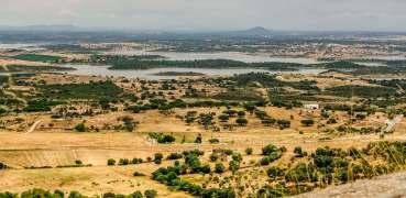 Alqueva Reservoir from Monsaraz