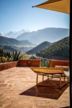 views from room 27 Kasbah Bab Ourika