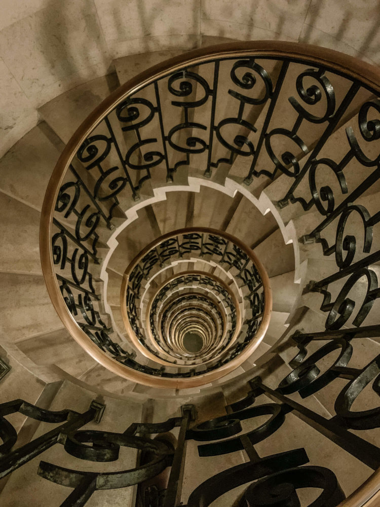 Marble Stairway The Ned