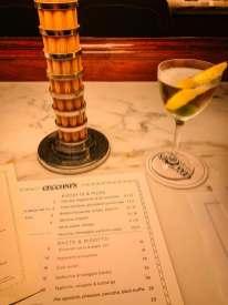 The Ned Cecconi's menu