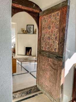Kasbah Bab Ourika doorwaai detail