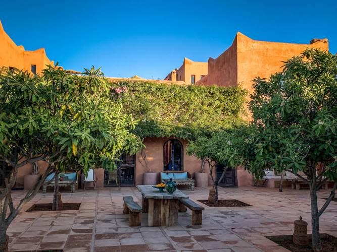 main terrace Kasbah Bab Ourika