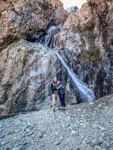 Setti Fatma Waterfalls pose