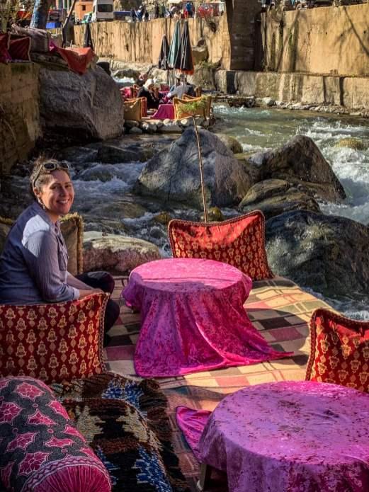 dining by river Setti Fatma