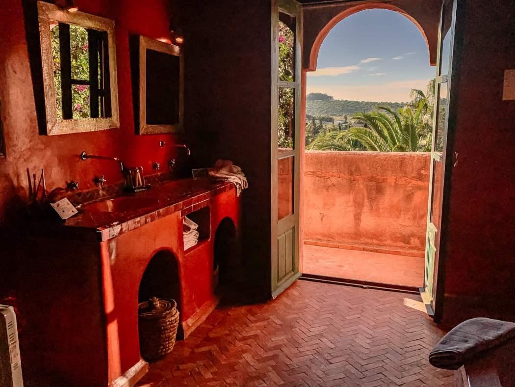 Le Jardin des Douars Mogador Suite bathroom