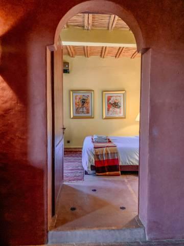 Le Jardin des Douars Mogador Suite doorway