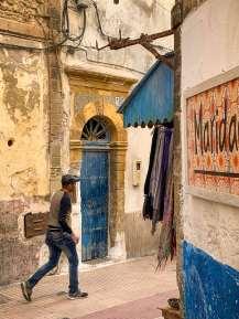 Essaouira Medina street scene