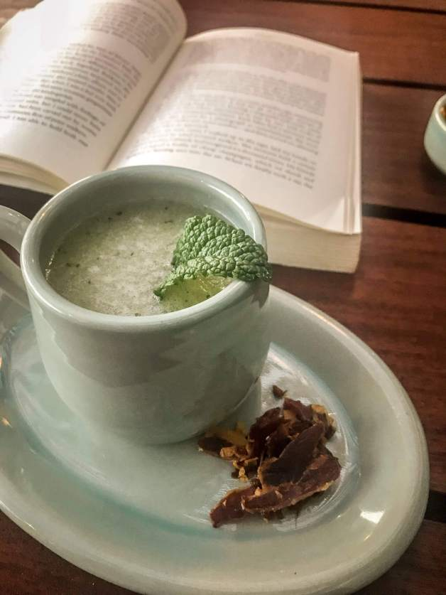 Sao Lourenco do Barrocal soup