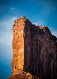 Gateway Canyon palisade detail