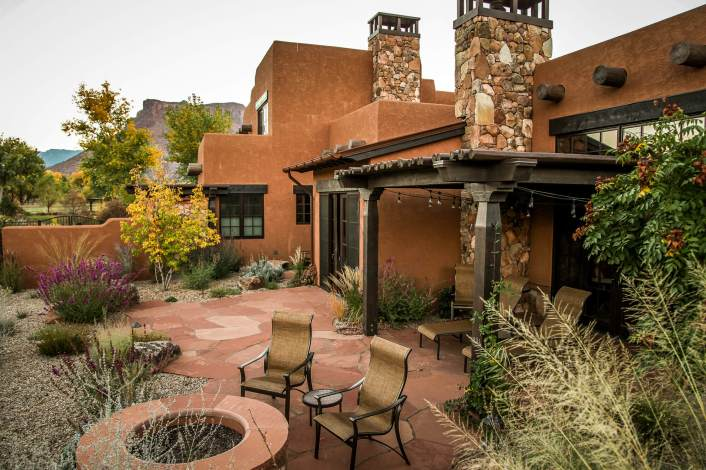 Gateway Canyons casita patio