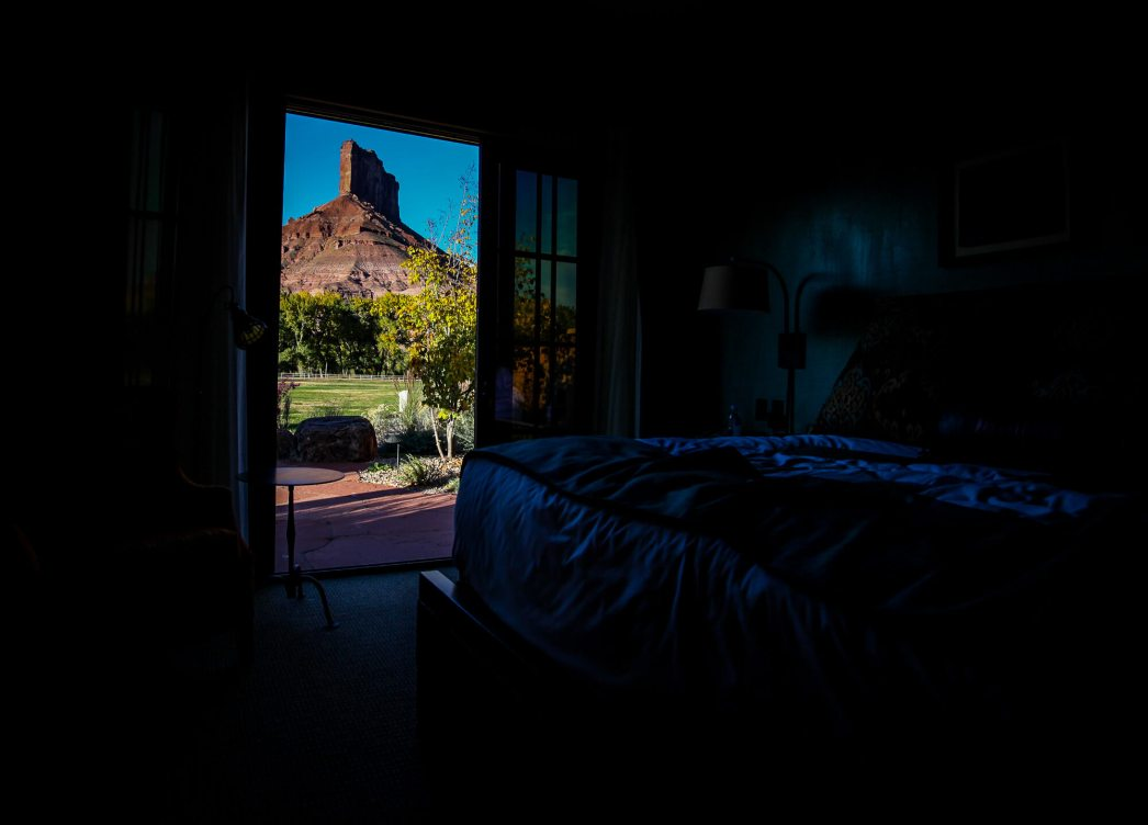 Gateway Canyons room view