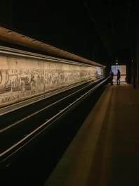 Bayeux Tapestry viewing