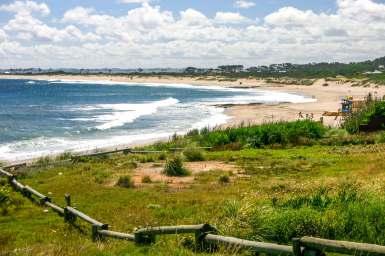 view of Playa Mansa