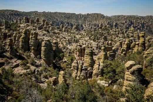 Chiricahua National Monument chimney rocks