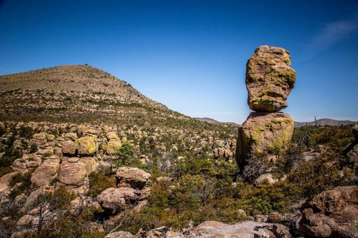 Chiricahua National Monument stacked rocks
