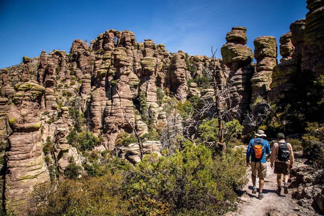 Chiricahua National Monument canyon rocks