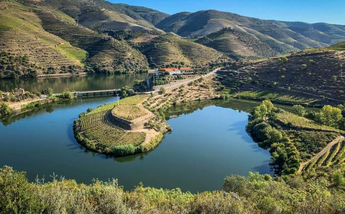View from Vila Gale Douro Valley