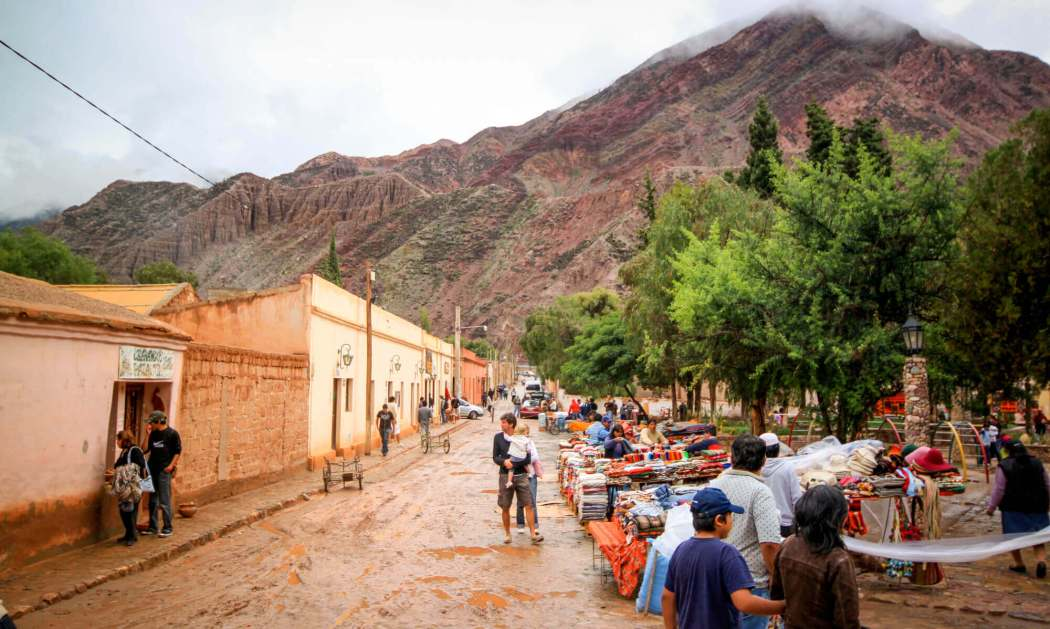 Purmamarca market day