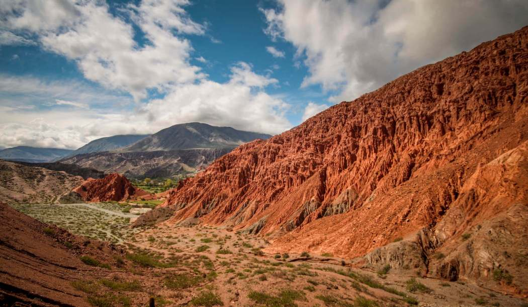 Paseo del Colorado Purmamarca red rocks